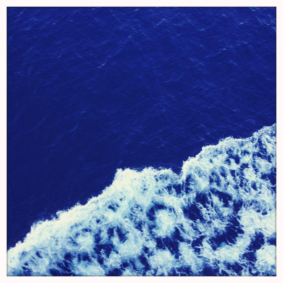 Sea between Samotracia and Alexandropoli -