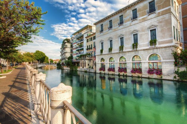 View of the city of Treviso,
