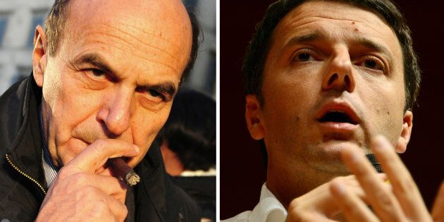 Renzi e Bersani in una foto del