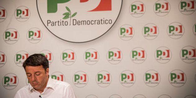 27/01/2018 Roma, conferenza stampa del segretario del Partito Democratico Matteo Renzi sulle liste