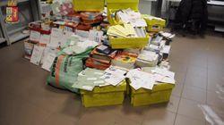 Postino non consegna la posta per 8 anni: trovati 6 quintali di lettere nel suo
