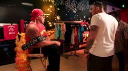 Hulk Hogan si è divertito a spaventare i visitatori del museo delle cere di