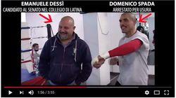 Il candidato 5 Stelle al Senato balla con Domenico Spada, uomo del clan, arrestato per usura. Il Pd: