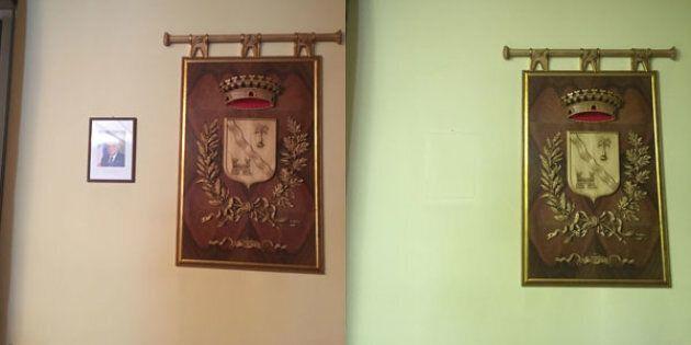 Il sindaco di Lazzate toglie la foto di Mattarella dal suo ufficio: