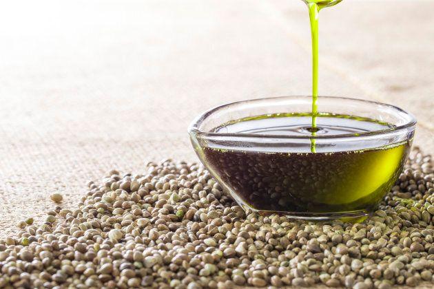 Image of health food, hemp