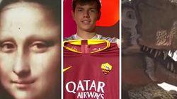 Il video nonsense della presentazione del nuovo giocatore della Roma è