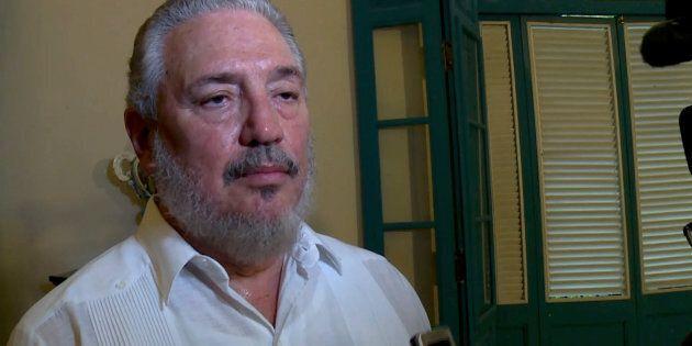 File photo taken on June 1, 2016 of Cuban Fidel Castro Diaz-Balart, son of Cuban leader Fidel Castro.Fidel...