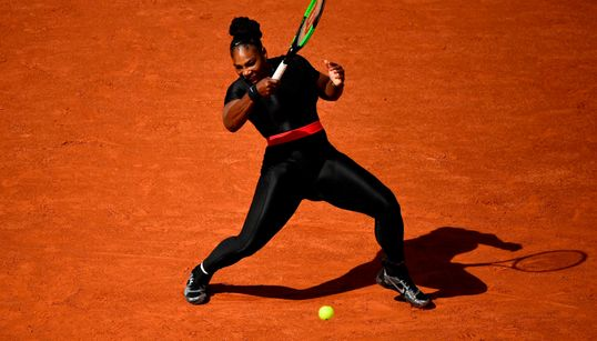 La tuta total black di Serena Williams è un messaggio di speranza per tutte le