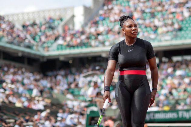 La tuta total black di Serena Williams è un messaggio di speranza per tutte le