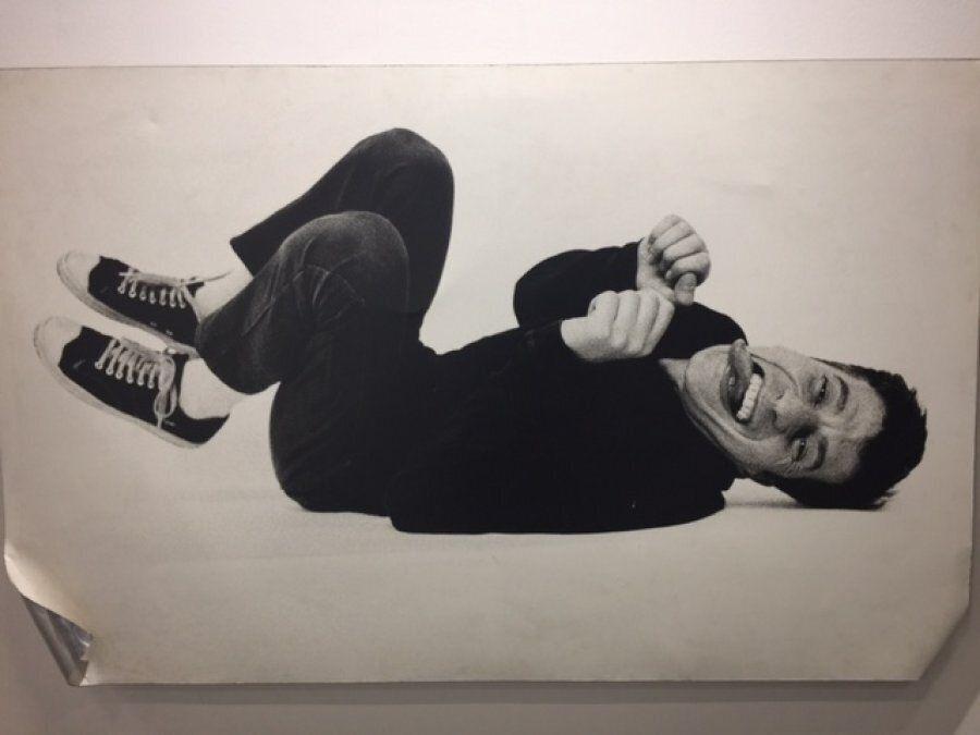 Maurizio Cattelan, Untitled, 1995, stampa in bianco e nero su alluminio, 120x190, galleria Farsetti per...