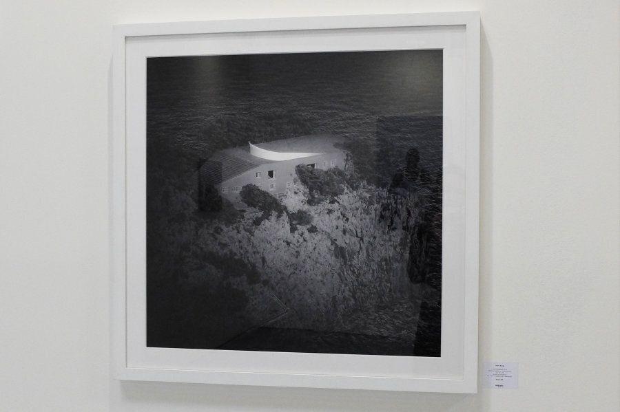 Irene Kung - Villa Malaparte - 2012 - stampa digitale su carta cotone - 70 x70 - Galleria Contrasto -...