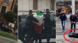 Sparatoria a Macerata: 6 feriti, tutti stranieri, arrestato l'autore. Nessun legame con