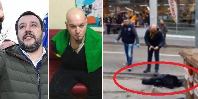Matteo Salvini sull'aggressore di Macerata: