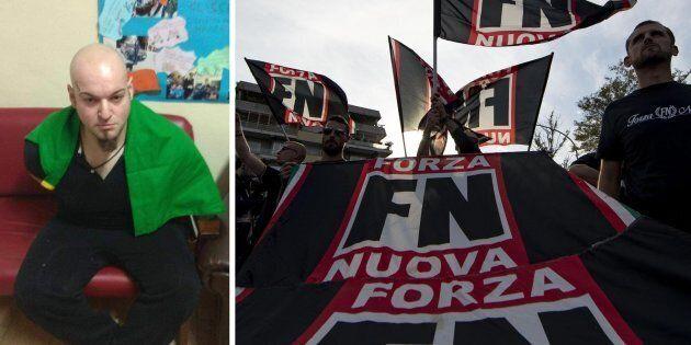 Forza Nuova si schiera con l'aggressore di Macerata: