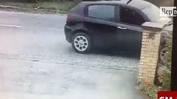 Sparatorie a Macerata, gli spari ripresi da una videocamera di