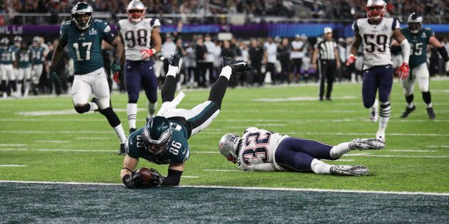 NFL Football - Philadelphia Eagles v New England Patriots - Super Bowl LII - U.S. Bank Stadium, Minneapolis,...