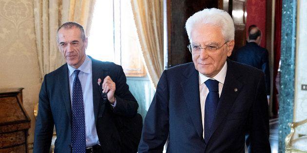 Cottarelli a colloquio informale con