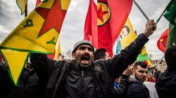 Scontri al sit-in contro Erdogan. Cariche della polizia, ferito un