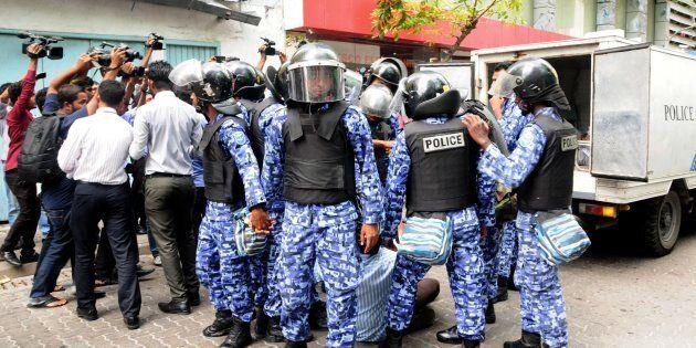 Maldivian riot