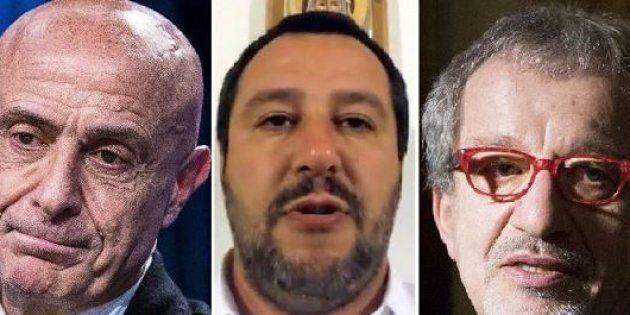 Gelida accoglienza. Minniti e Maroni avvertono Salvini sui migranti. L'ex ministro dell'Interno: