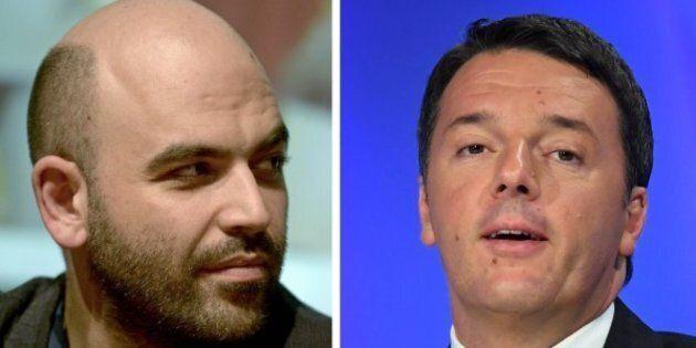 Roberto Saviano contro Matteo Renzi: