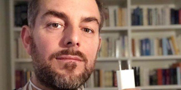 Daniele Bossari su Instagram contro la dipendenza da smartphone: