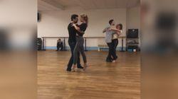 Michelle e Favino provano il balletto sulle note di Despacito e sono più sensuali che