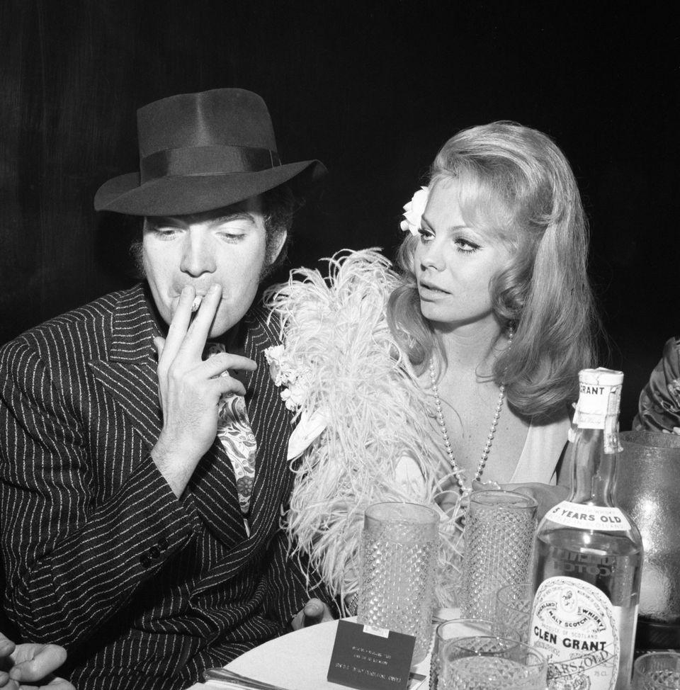 Milano, 08/02/1968 Festa al Number One organizzata da Marina Cicogna dopo la prima del film