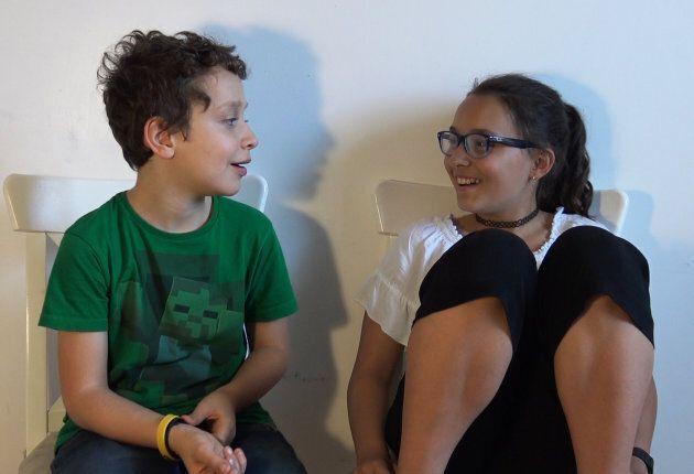 Andrea (10) e Lia