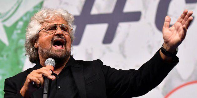 Beppe Grillo dà la linea