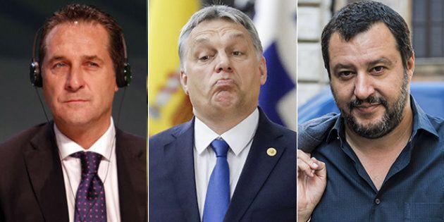 Noi uomini duri. Orban si gode l'asse con Salvini e