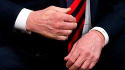 Trump ha trovato qualcuno che stringe le mani più di