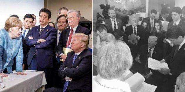 Il braccio di ferro tra Merkel e Trump nella prospettiva di una