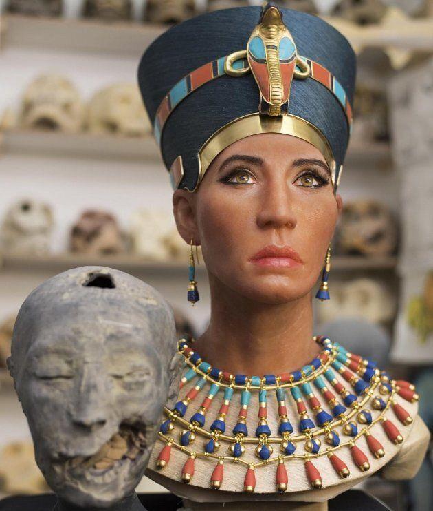 La Regina Nefertiti ha un volto grazie alla ricostruzione