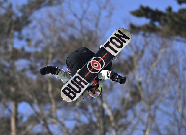 Snowboarding - Pyeongchang 2018 Winter Olympics - Men's Slopestyle Finals - Phoenix Snow Park - Pyeongchang,...