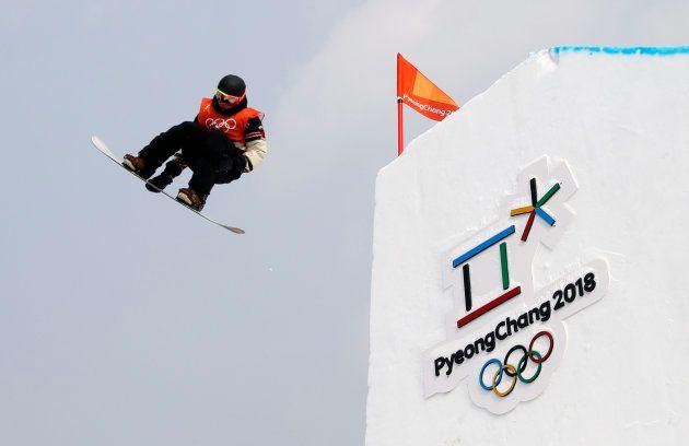 Snowboarding - Pyeongchang 2018 Winter Olympics - Men's Slopestyle Qualification - Phoenix Snow Park...