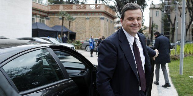 Carlo Calenda, Ministro dello Sviluppo Economico, durante la seconda giornata del Forum Economico Italia-Francia...
