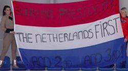I tifosi olandesi alle Olimpiadi invernali trollano Donald Trump:
