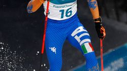 Federico Pellegrino vince la medaglia d'argento nello sci di