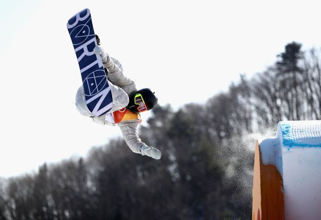 PYEONGCHANG-GUN, SOUTH KOREA - FEBRUARY 11: Redmond Gerard of the United States in action during the...