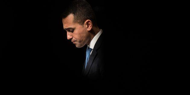 NAPLES, ITALY - FEBRUARY 12: Luigi Di Maio, premier candidate for the Five Star Movement (Movimento Cinque...