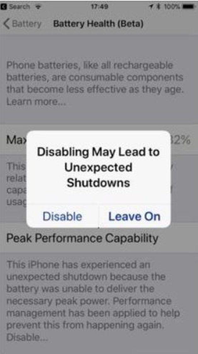 Obsolescenza programmata, Apple rilascia un aggiornamento per risolvere il problema (ma non è