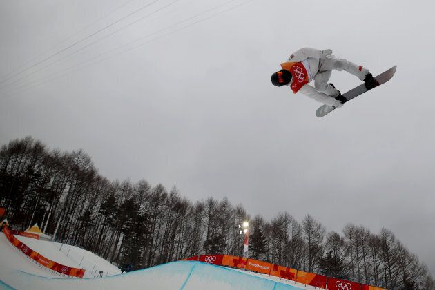 PYEONGCHANG, SOUTH KOREA - FEBRUARY 14: Shaun White #2 of the United States in action on the final day...