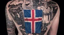 Il capitano dell'Islanda è entrato alla grande nello spirito dei