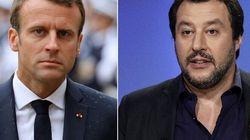 Scontro tra populismi sulla pelle dei migranti: Macron attacca Salvini per colpire Le Pen, fingendo superiorità etica