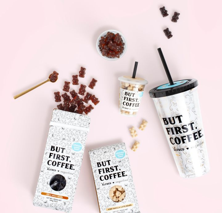 These coffee candies come in three flavors: cold brew, iced vanilla latte and bourbon cold brew.
