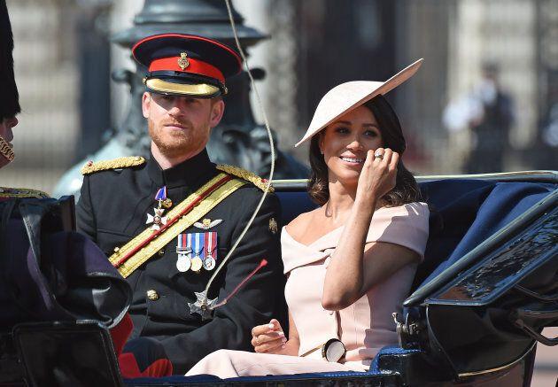 Meghan parla di Harry nella prima uscita con la Regina: