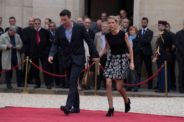 14/05/2017 Parigi. Cerimonia di insediamento del nuovo presidente della Repubblica francese. Nella foto...