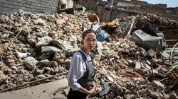Angelina Jolie tra le macerie di Mosul: