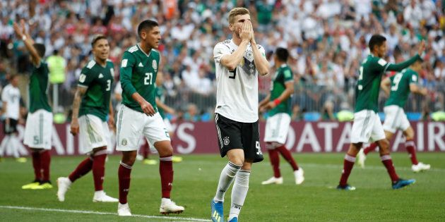 Soccer Football - World Cup - Group F - Germany vs Mexico - Luzhniki Stadium, Moscow, Russia - June 17,...